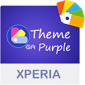 COLOR™ XPERIA Theme | PURPLE