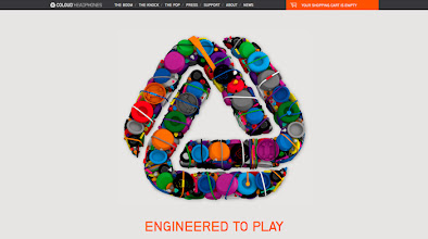 Photo: Site of the day 16 October 2012 http://www.awwwards.com/web-design-awards/coloud-headphones