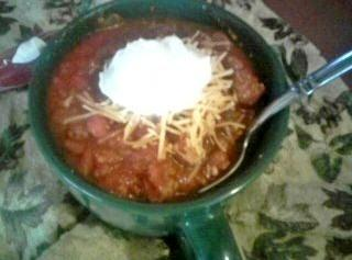 Cassies Thick, Meaty,spicy, Chili Recipe