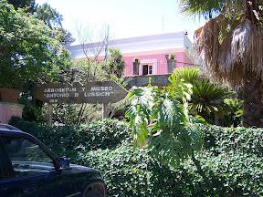 Entrada del Arboretum Lussich