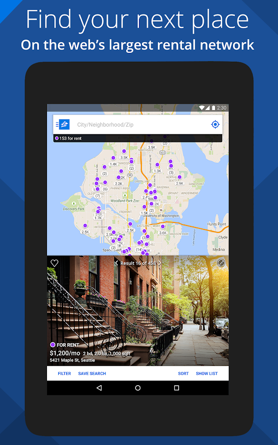Zillow Rentals - Houses & Apts- screenshot