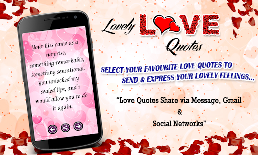 Lovely Love Quotes- screenshot thumbnail