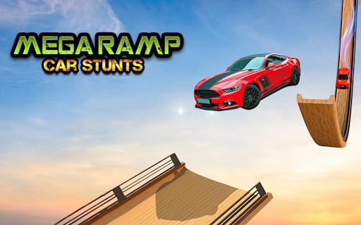 Mega Stunt Car Race Game - Free Games 2020 3.4 screenshots 8