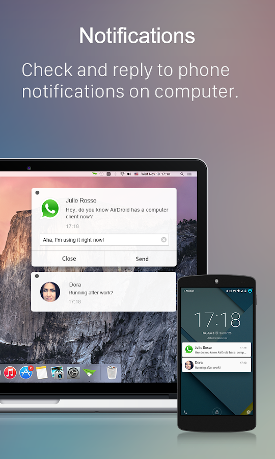 AirDroid: File & Notifications- screenshot