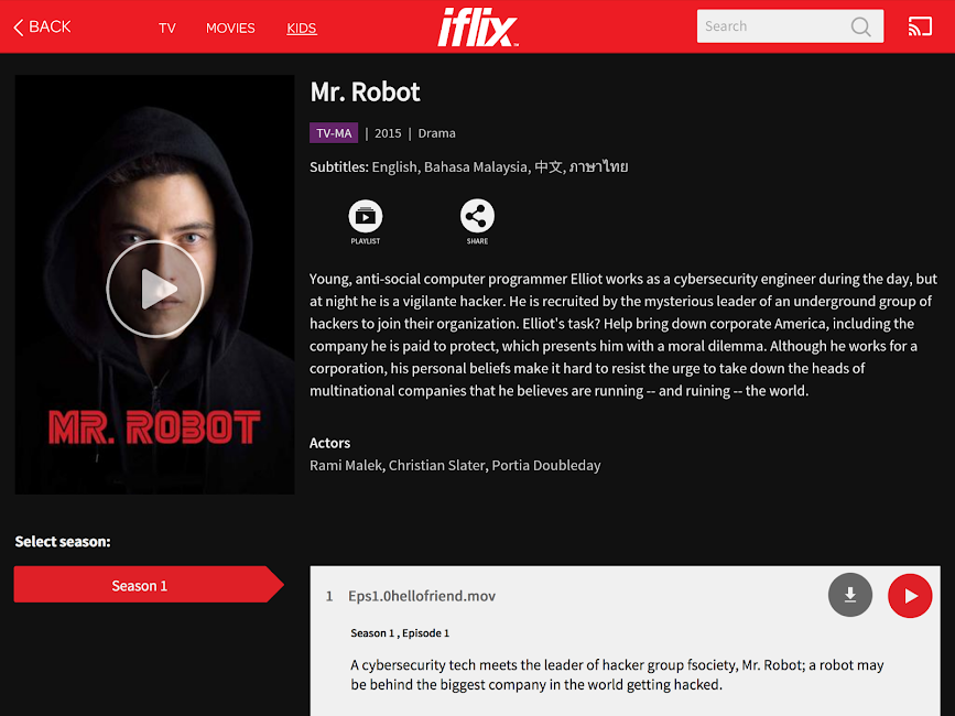 #17. iflix (Android)