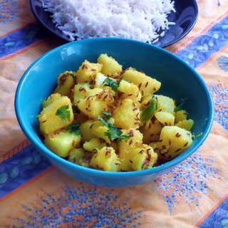 Jeera Aloo Recipe - Roast Potatoes with Cumin Seeds Recipe
