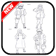 how to draw characterr narutoo (app)
