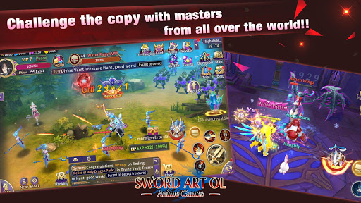 Sword Artuff1aAnime Games screenshots apkshin 4