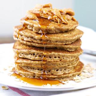 Coconut Chia Pancakes.