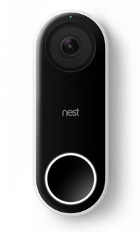 Nest Hello video doorbell image
