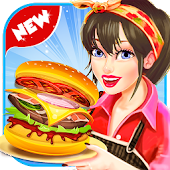 Fast Food Cooking Truck - Cooking Game