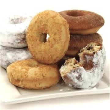 Baked Doughnuts Three Ways