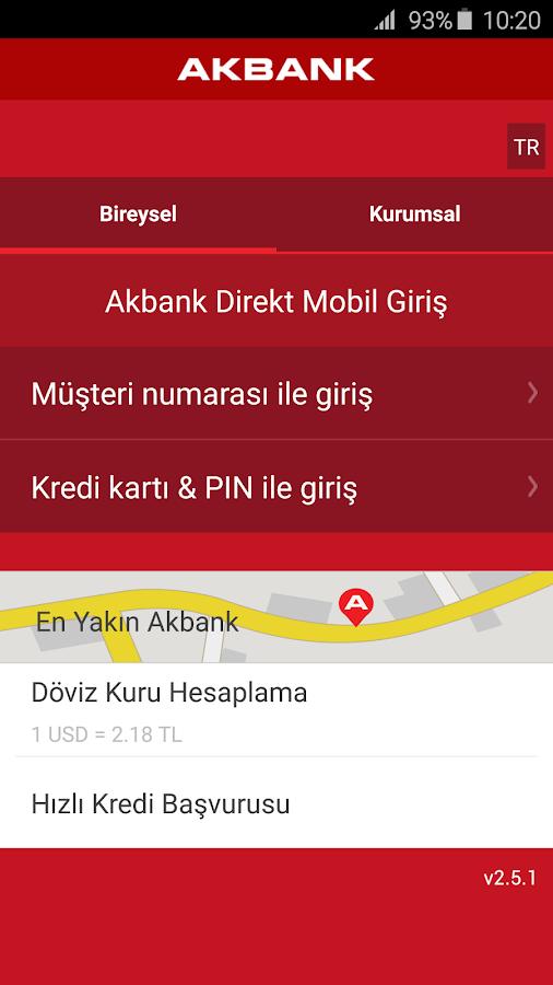 Akbank Direkt- screenshot