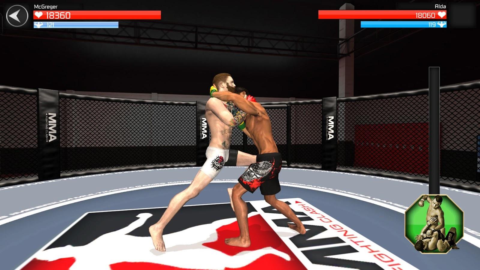 mma fighting online
