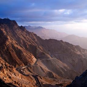 Final Destination by Dj Hostalero - Landscapes Mountains & Hills ( ksa, mountains, hada, taif, djmaculet, road, saudi arabia )