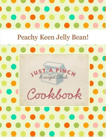 Peachy Keen Jelly Bean!