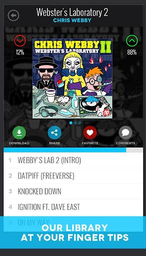 DatPiff - Mixtapes & Music 4.7.8 screenshots 2