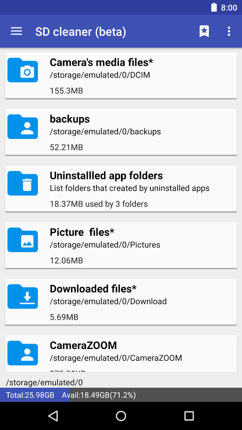 1Tap Cleaner Pro (clear cache, history log) Screenshot 2