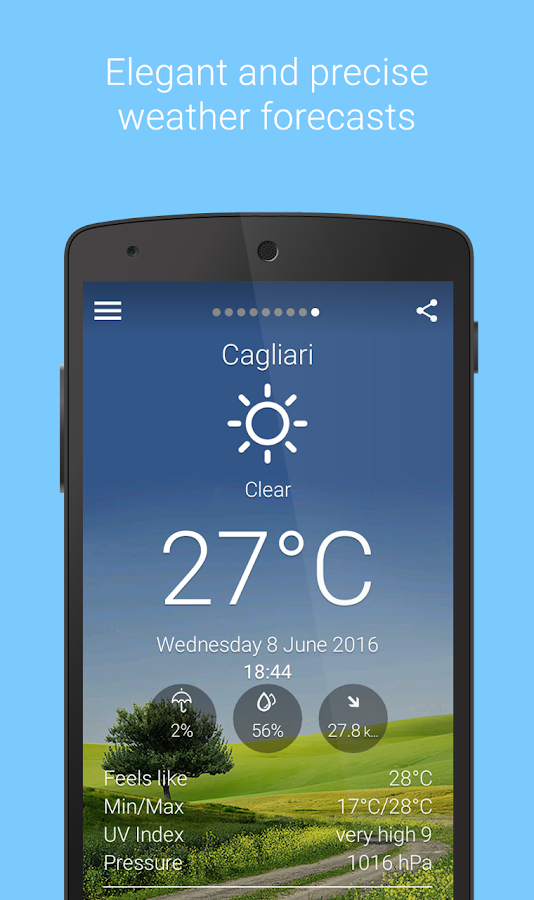 Libero Meteo - Live weather- screenshot