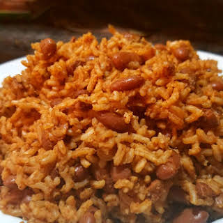 Easy Rice and Red Beans.