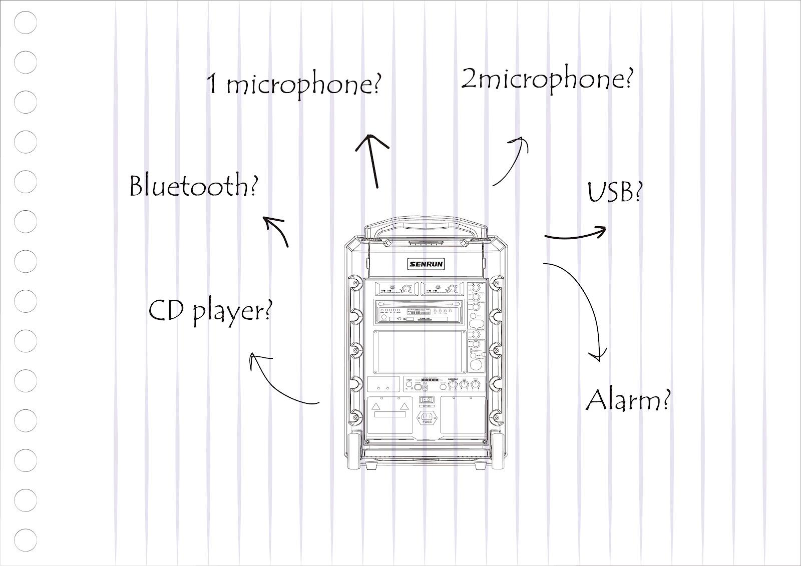 省電無線擴音機,客製化多功能設計|原盛電子SENRUN