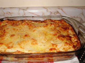 Poor Mans Lasagna Recipe