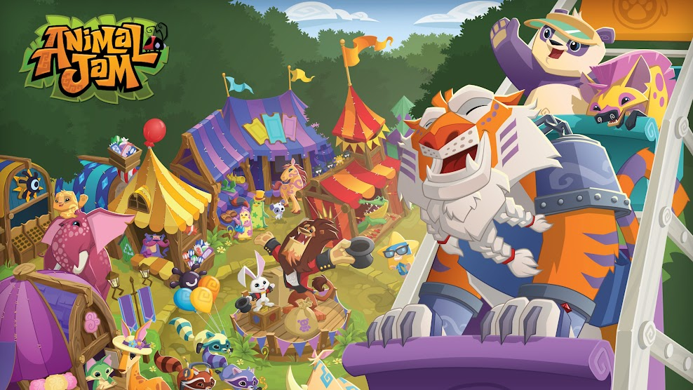 Animal jam play wild android apps on google play - Animal jam desktop backgrounds ...