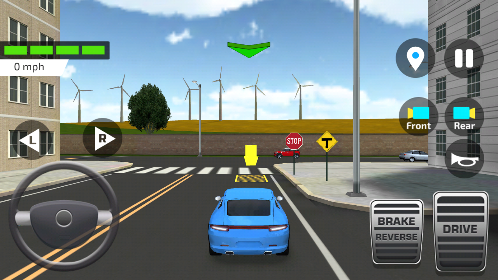 Car Driving Parking School Android Apps On Google Play - Video of car driving across us map