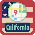 USA California Maps icon