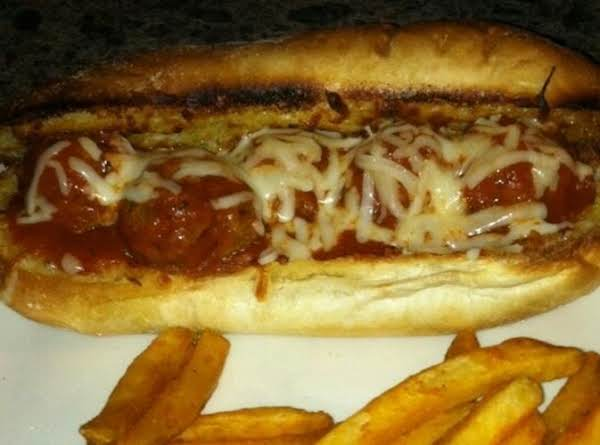 Meatball Sub Sandwiches Recipe