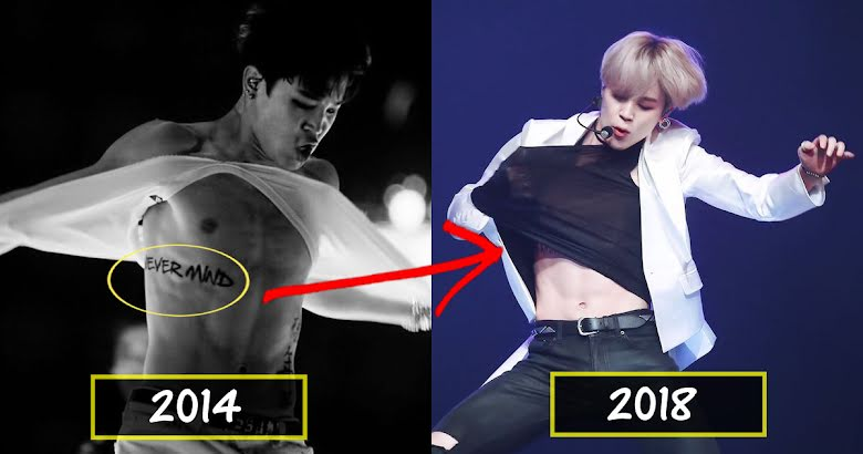 Fans Suspect That Bts S Jimin Got A Real Tattoo Here S Why