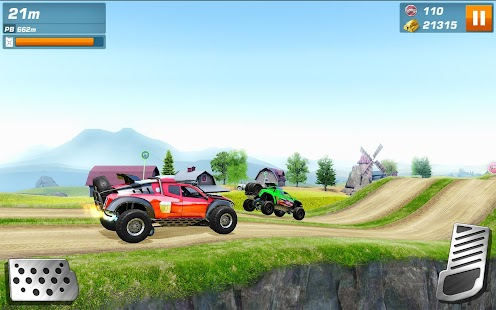 Monster Trucks Racing Screenshot