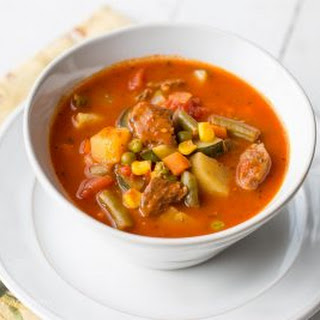 Homemade Vegetable Beef Soup Recipe