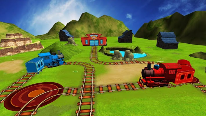 Train Maze Sim - screenshot