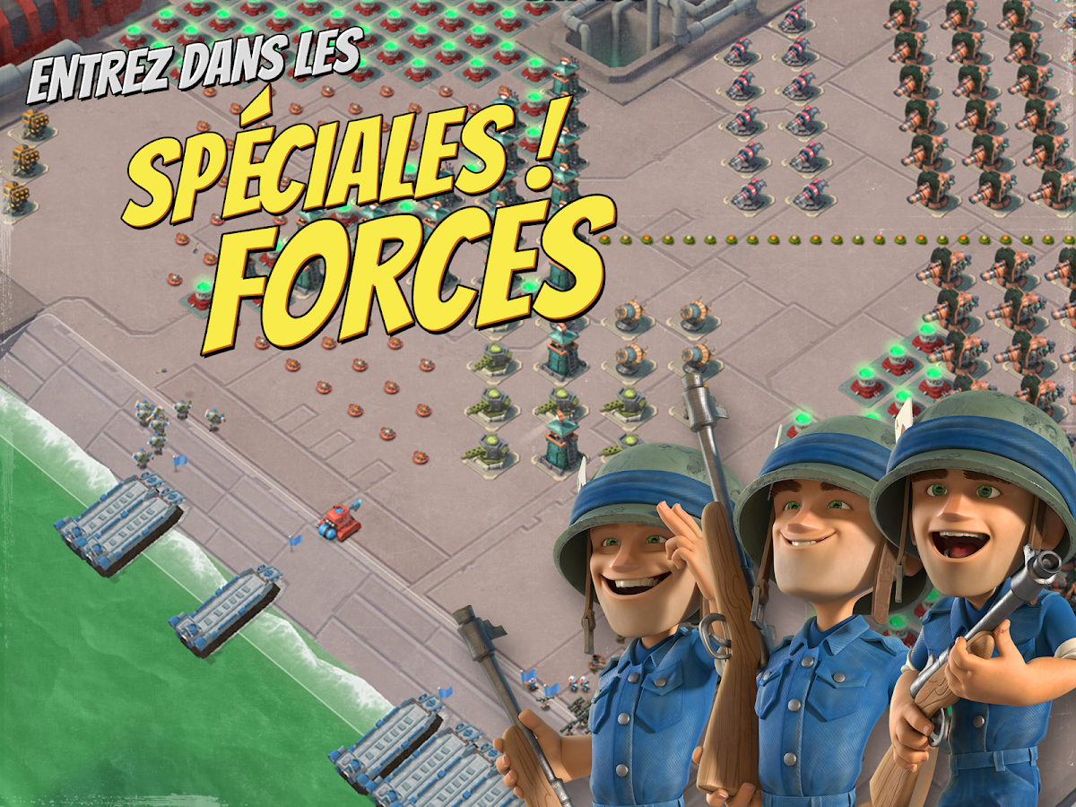 Boom Beach – Capture d'écran