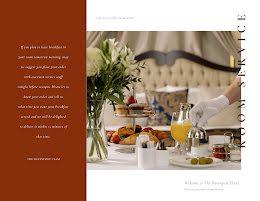 Room Service - Food Menu item