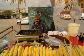 Photo: Corn seller, Suleymaniya