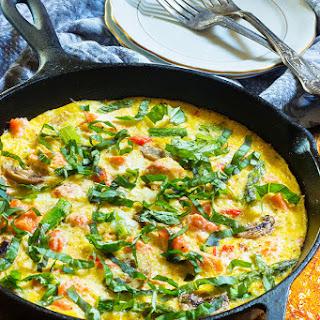 Salmon Asparagus Mushrooms Recipes.