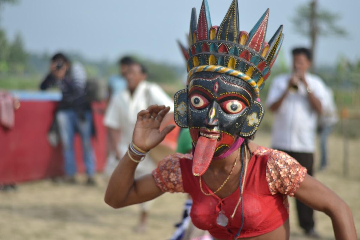 Gomira Dance Mask of Kali - Artist from Kushmandi — Google Arts & Culture