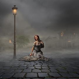 Helpless by Frank Quax - Digital Art People ( fantasy, photoshop, manipulation, photography, creative, editing )