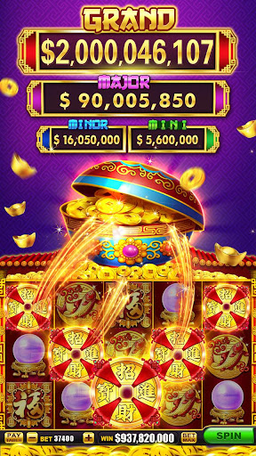 Download Slots! CashHit Slot Machines & Casino Games Party MOD APK 9