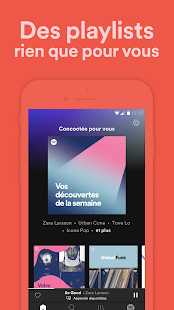 Spotify : Nouvelle musique, playlists et podcasts Capture d'écran