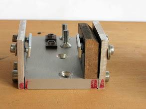 Photo: détail des pièces le composant