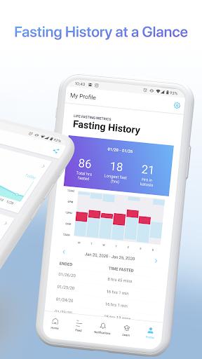 LIFE Fasting Tracker | Social Intermittent Fasting 5.0.3 screenshots 4