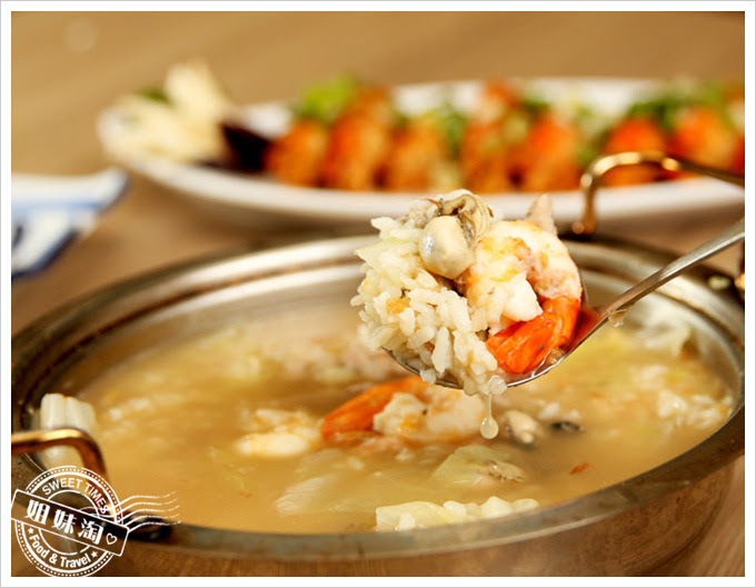 雄出沒岩燒生蠔熱炒餐廳-生蠔海鮮粥