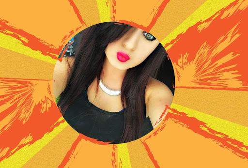 Girl Selfie Photo Frame