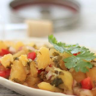 Lacto-Fermented Pineapple Salsa