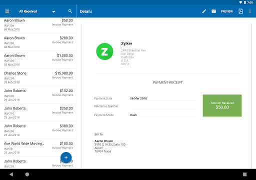 Zoho Invoice - Online Invoicing & Billing Software 5.23.07 screenshots 10