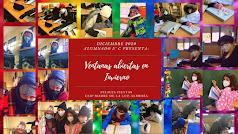 Felicitación de Navidad del alumnado de 5º C del CEIP Madre de la Luz en Almería.