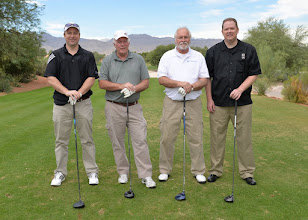Photo: Crosby Poston, Tim Conyngham, James Garner, George Taylor